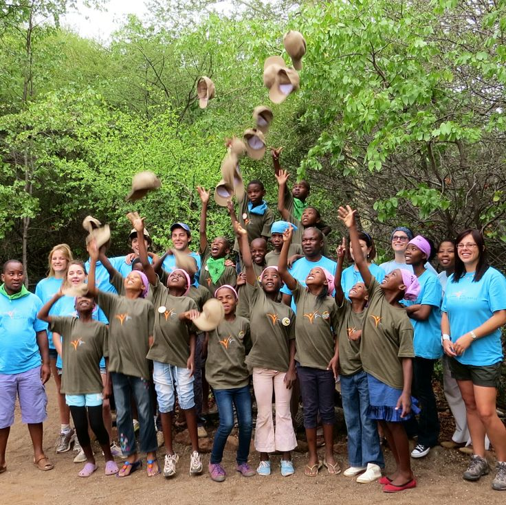 Celebrating the end of a successful (and fun!) week - Limpopo Valley CITW Camp #MashatuGameReserve #Botswana #community