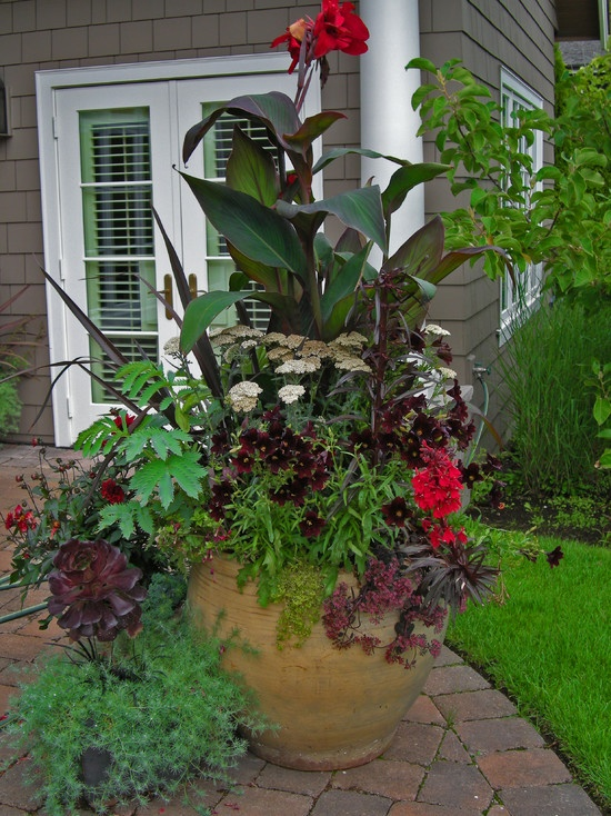 314 best summer planters images on pinterest | gardening, flowers ... - Patio Flower Ideas