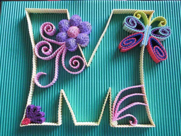#kokoru #M #handmade #papercraft