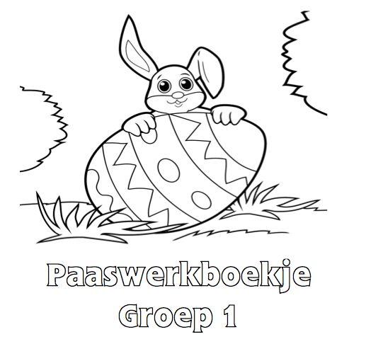 Paaswerkboekje Groep 1