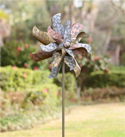 Spotted Flower Wind Spinner (from Wind & Weather)