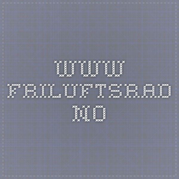 www.friluftsrad.no