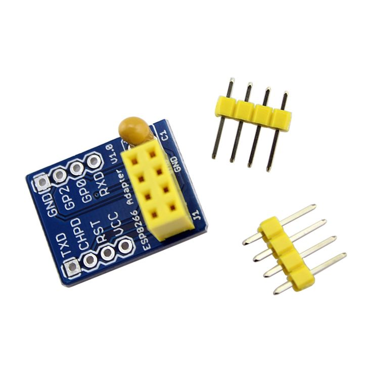 Elecrow ESP8266 Breadboard Adapter for ESP8266 Serial-to-WiFi Transceiver Electronics DIY Kit ESP-07 ESP-08 ESP-12