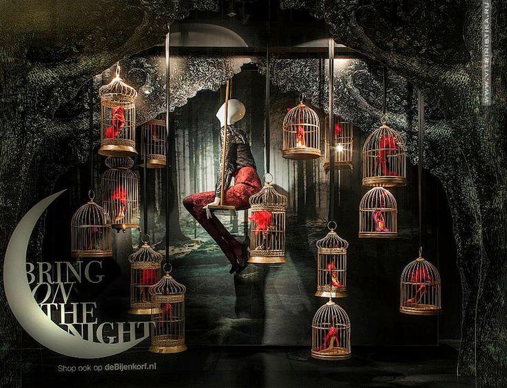 Магические рождественские витрины  http://vitrinistika.ru/visual-merchandising/world-showcases/magicheskie-rozhdestvenskie-vitriny/