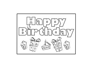 make your own birthday card printable