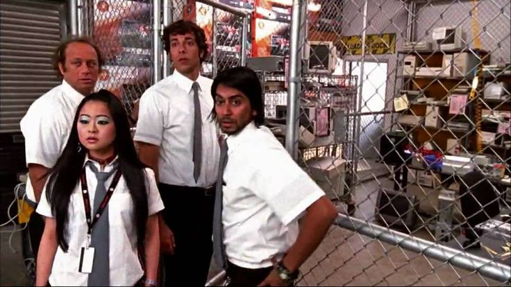 Chuck opening credits in the style of friends