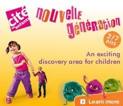 Paris Science Museum- Hands on for kids, etc!