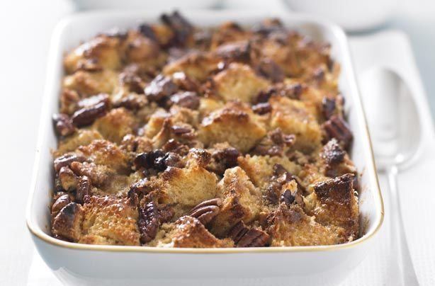 Hairy bikers pecan bread and butter pudding