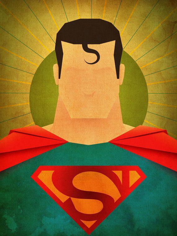 Mínima héroes: Impresión Superman