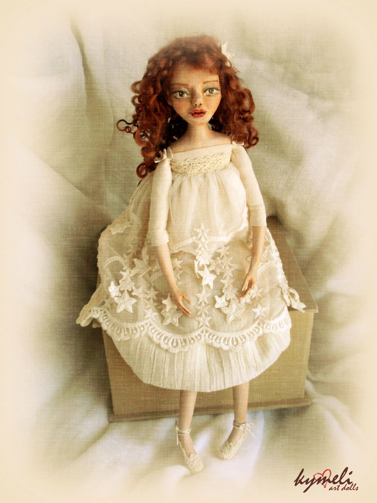 Life is so beautiful...!!! Wake up and fight for your dreams ... Art Doll by Kymeli