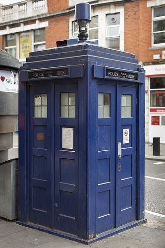 Earl's Court police box #doctorwho #tardis