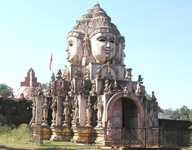 Amarkantak - Beautifull Place to Visit in Madhya Pradesh having nice temples, hot spring waters etc so book your India Tour with us now