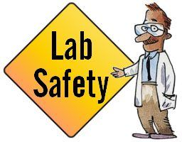A list of 35 lab safety procedures. The rules cover everything that could go wrong in a lab.