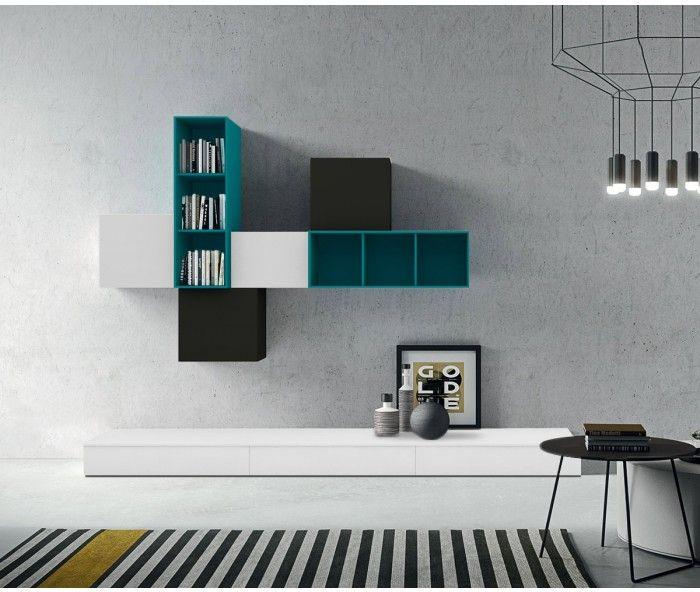 114 best u003eu003e TV Wohnwände u003cu003c images on Pinterest Tv walls - wohnzimmer wohnwand weis