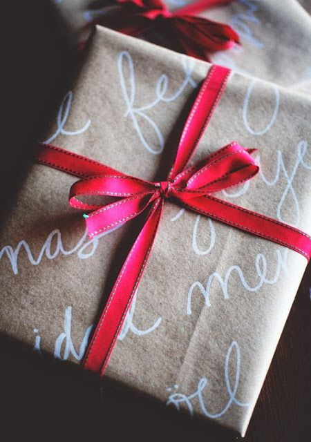 belle maison: Wrap in Style :: DIY Christmas Gift Wrapping Ideas