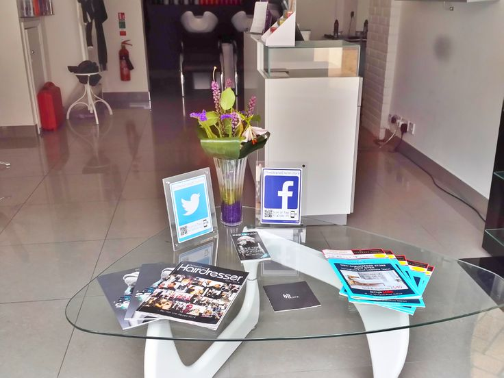 We love how elegant our #socialmedia tags look in the salon. A stunning and professional way to display your Social Media to boost your likes and follows with #Logotag #smm #socialmediamarketing