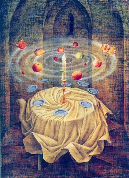 Remedios Varo davidcharlesfoxexpressionism.com #remediosvaro #surrealistpaintings #surrealism