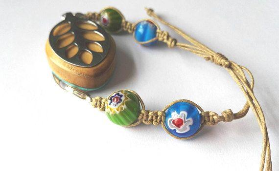 Boho bellabeat macrame bracelet in my Etsy shop https://www.etsy.com/uk/listing/518813620/bellabeat-bracelet-macrame-style