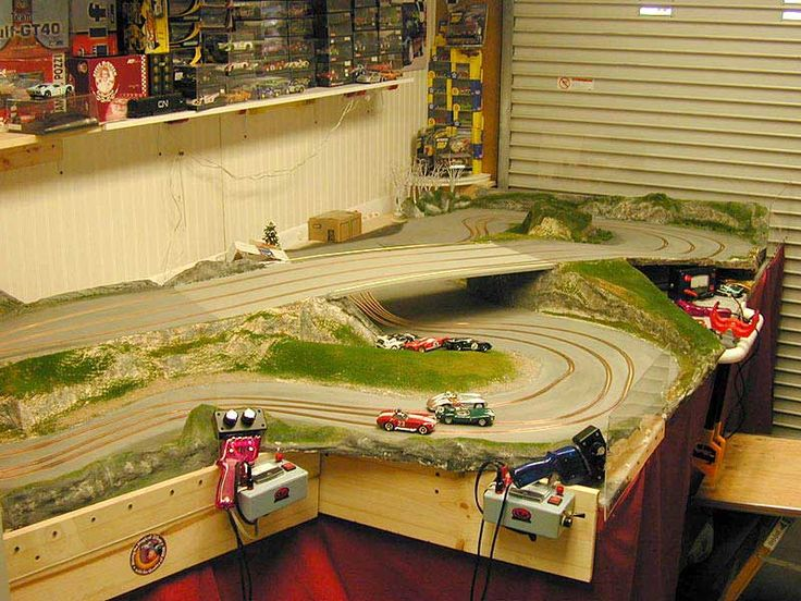 Affb Fc A F A A Slot Cars Track on Routed Slot Car Track Plans