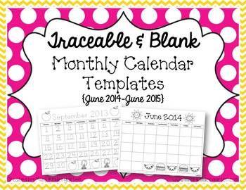 fun calendar templates 2015