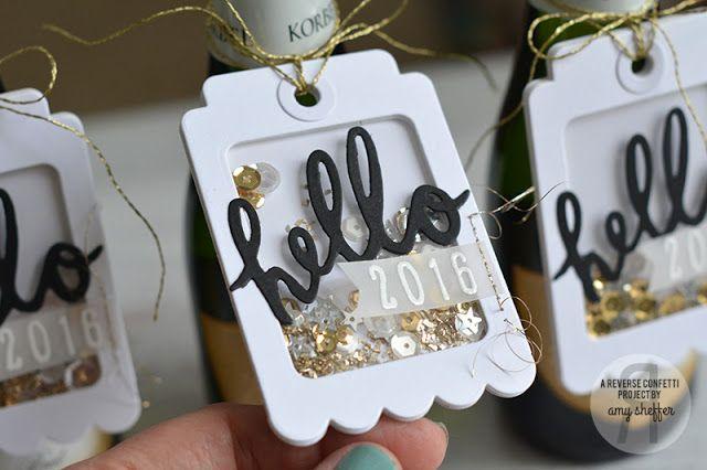 Des petites étiquettes pour mettre sur vos tables de Noël avec la Fuse