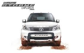 Tata Motors has launched new Safari Storme Explorer Edition, with a price tag starting at Rs.10.86 lakhs (ex-showroom, New Delhi).    The new variant externally gets Explorer front nudge guard, Explorer body decals on the C-Pillar and the hood, a chrome garnish for the projector headlights and taillights, and Explorer branded door visors. Other add-ons include a cycle carrier, cargo basket and a roof-mounted canopy.