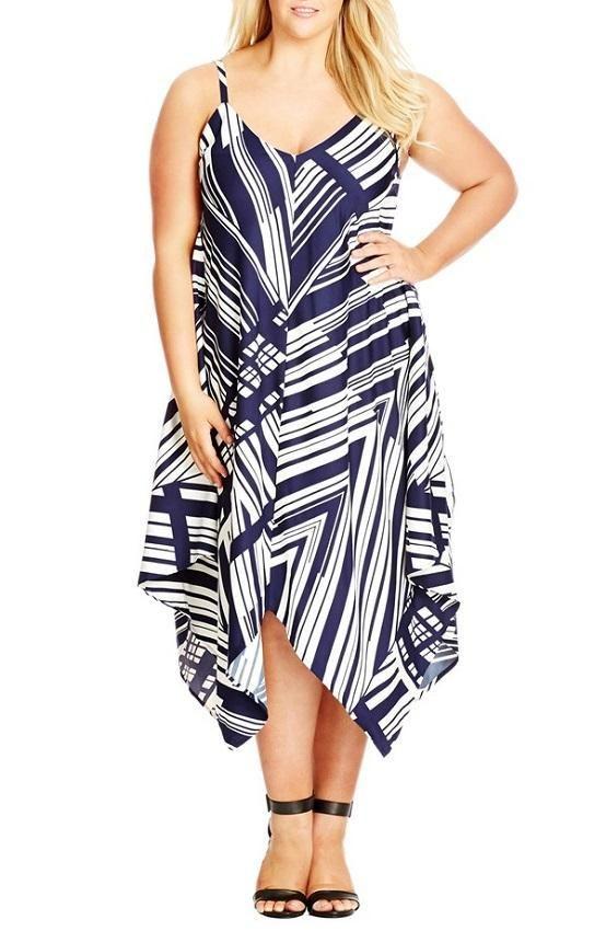 10 FREE Plus Size Summer Dress Patterns 3