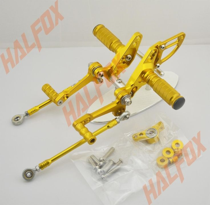 94.91$  Know more  - Gold CNC Rearset Foot  Pegs Rear Set For DUCATI Streetfighter 848 1100