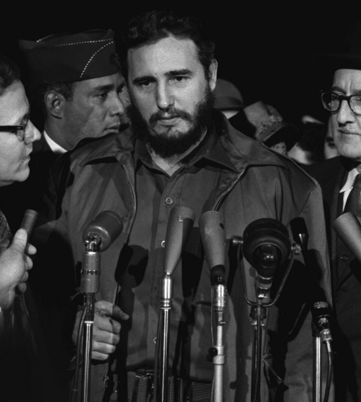 Fidel Castro is sworn in as prime minister of Cuba  in 1959 after leading a guerrilla campaign