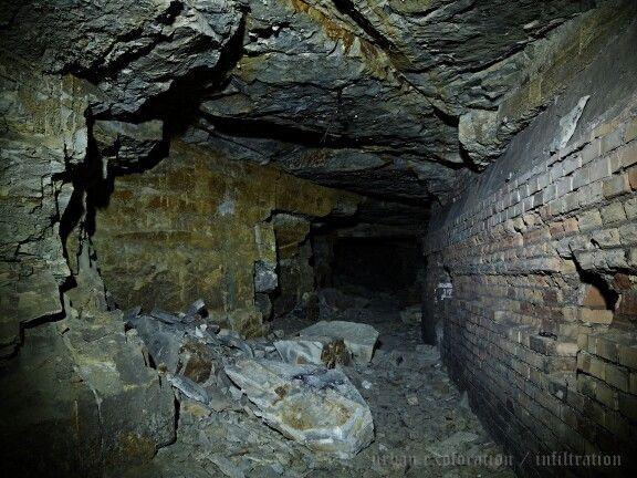 """podzemní továrna Richard, chodba C / abandoned underground nazi factory """"Richard"""" (2014)"""