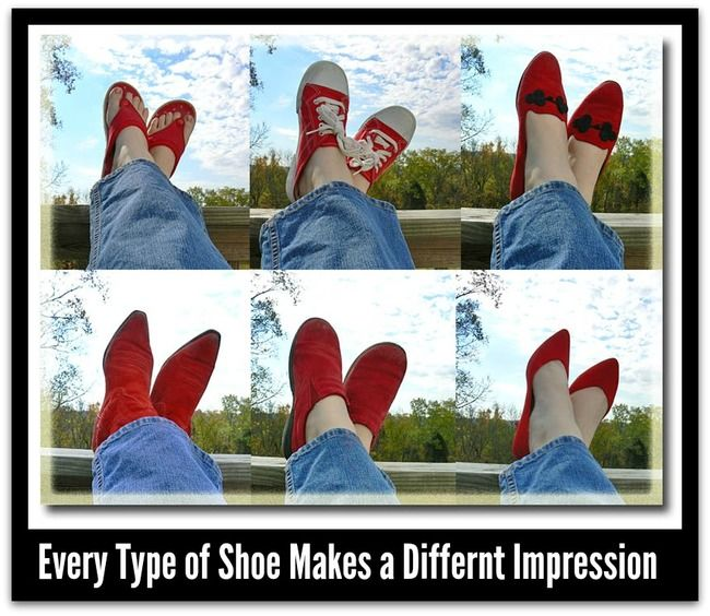 The shoes you pick change your image