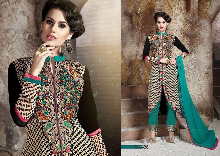 asian indian suit salwar kameez Dreamz_2 Pakistani Designer Suit Dress Material