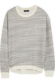 J.CrewCotton-blend jersey sweatshirt