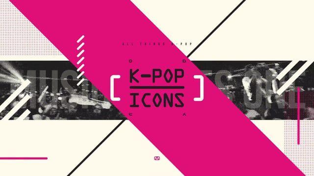Project / Broadcast Design for KPOP_ICONS (tst work) Design x Motion / e'ssem test Sound / cubesato  (https://soundcloud.com/cubesato/mtv-iggy-art-break)
