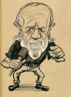 George Carlin (by Zach Wallenfang)