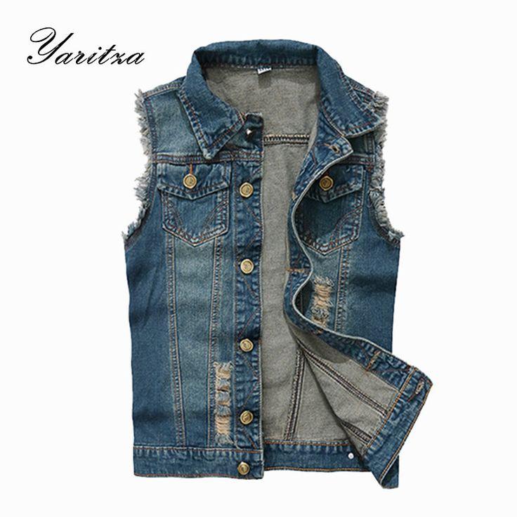 Find More Vests & Waistcoats Information about 2015 New Arrival Men's Denim Vest Brand Jeans Vest Men Cowboy Vest Denim Sleeveless Jacket Plus Size S 6XL Jeans Vest Men,High Quality Vests & Waistcoats from YITIAN MEN'S FASHION STORE 2015 on Aliexpress.com