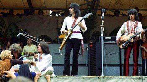 Color Photos of The Rolling Stones Free Concert at Hyde Park in 1969