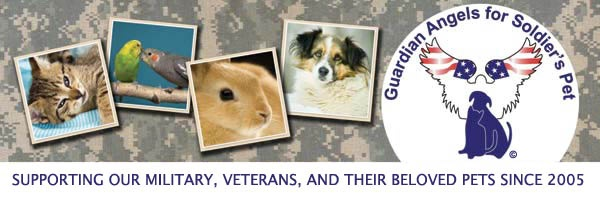 Supporting our Military, Veterans, and their beloved Pets to ensure the pets are reunited with their owners following a deployment (combat or peace-keeping mission) in harm's way to fight the global war on terrorism or unforseen emergency hardship impacting their ability to retain their pet's ownership rights.