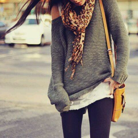 I love these sweaters: Fashion, Style, Dream Closet, Clothes, Outfit, Slouchy Sweater, Big Sweater, Scarf