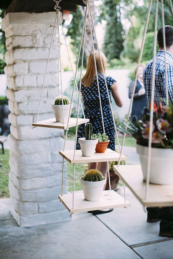 diy wood plant hangers