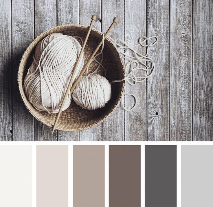 association de chanvre, lin, grège, couleur taupe, gris graphite et gris perle