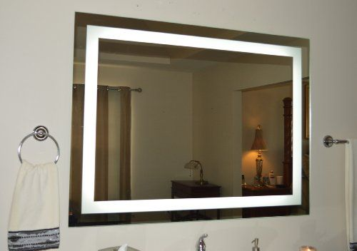 Halo Wide Led Light Bathroom Mirror: 22 Best Images About Bathroom Mirrors On Pinterest