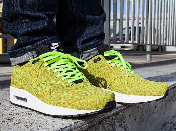 Nike Air Max 1 FB Yellow Leopard