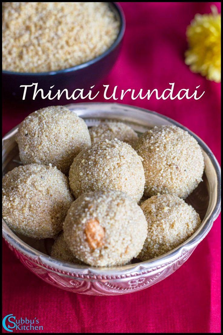 Thinai Urundai Recipe | Thinai Then Laddu| Foxtail Millet Honey Balls Recipe