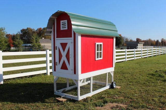 152 best images about ideas for new house on pinterest for Red chicken coop