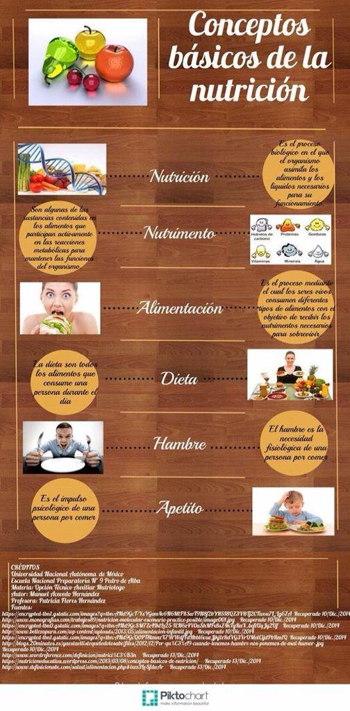 Conceptos básicos de Nutriología. Por Manuel Acevedo, grupo 9611