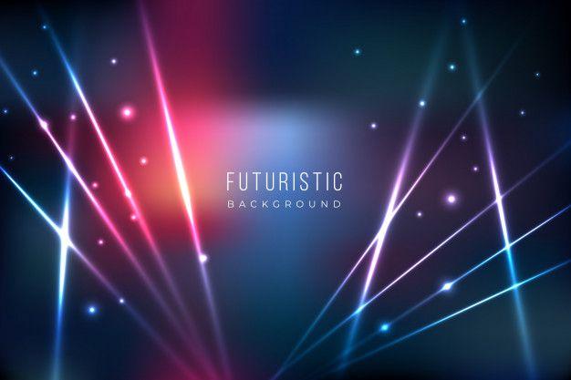 Baixe Fundo Futurista Com Efeito De Luzes Gratuitamente In 2020