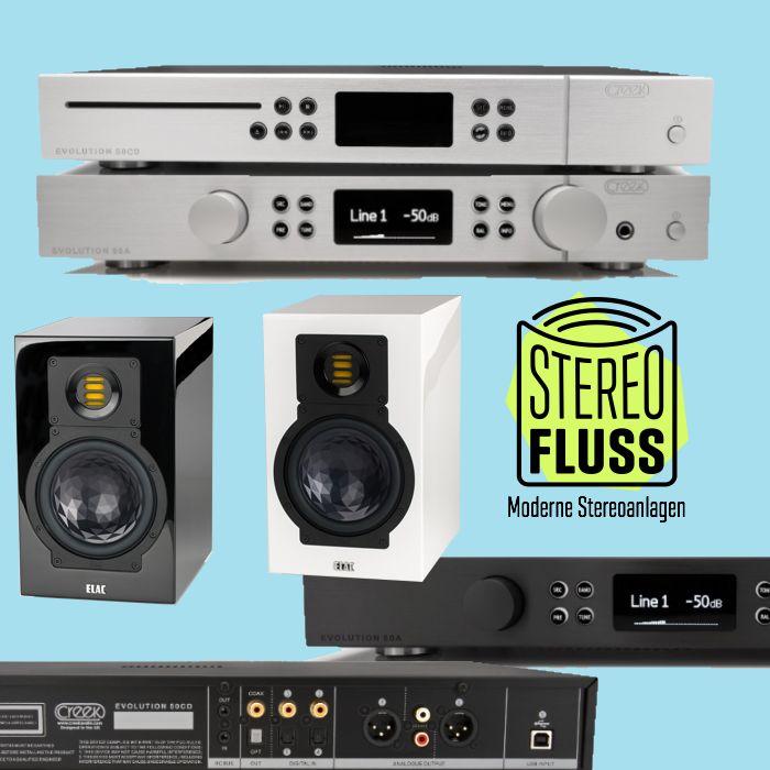 Elac 244.3 Lautsprecher & Creek Evolution 50A und 50CD