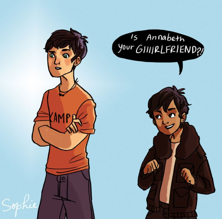 the little nico is annabeth your