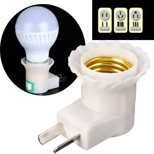 E27 Base To AC Power 110V 220V Lamp Bulb Socket Adapter Converter Switch  Worldwide delivery. Original best quality product for 70% of it's real price. Buying this product is extra profitable, because we have good production source. 1 day products dispatch from warehouse. Fast &...